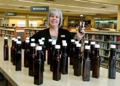 A mystery in the stacks at the Avon Lake Public Library where staffers have found 28 clean and empty A.1. steak sauce bottles with the labels removed.