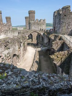 """medievalbritain: """" Conwy Castle Conwy, Wales by James Petts Constructed between 1283 and 1289 CE, Conwy Castle is one of the largest medieval fortifications in Wales. The castle served as a Royalist..."""