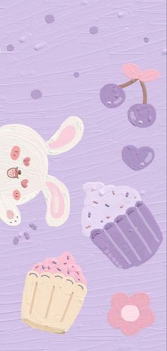 Cute Pastel Wallpaper, Purple Wallpaper Iphone, Soft Wallpaper, Cute Patterns Wallpaper, Bear Wallpaper, Aesthetic Pastel Wallpaper, Kawaii Wallpaper, Aesthetic Wallpapers, Cute Ipad Wallpaper