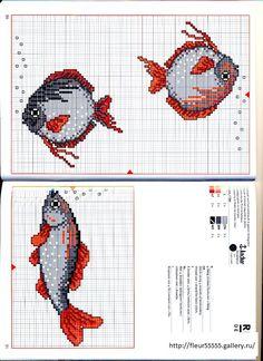 Cross Stitch Sea, Cross Stitch Borders, Cross Stitch Animals, Cross Stitch Charts, Cross Stitching, Cross Stitch Embroidery, Cross Stitch Patterns, Crochet Square Patterns, Needlepoint Patterns