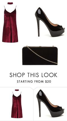"""""""Untitled #394"""" by beccas-boutique ❤ liked on Polyvore featuring Boohoo and Dorothy Perkins"""