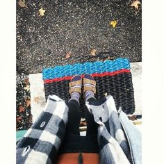Birkenstocks Wool socks Leggings Flannel