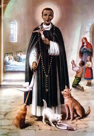 San Martín de porres nació en lima un mulato peruano , el hijo de hidalgo español Juan de porres y de negra el origen de Panamá Ana velazquez
