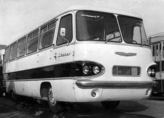 Jócskán megelőzte a korát ez a kis Ikarus Korat, New Bus, Bus Coach, Classic Motors, Pedal Cars, Busses, Budapest Hungary, Retro Cars, Motorhome