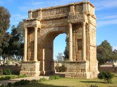 Arc de Dioclétien --Sbeïtla (Tunisie)