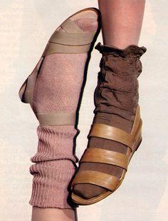 Torkil Gudnason for Mademoiselle magazine, March 1984