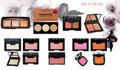 Jeu de dupe : Ambient Lighting Palette - Hourglass - Highlighter Palette Radiance - Makeup Revolution - Duo Blush / Bronzer - Nars - Poudre Contouring Blush et Bronzing - Elf - Blush - Nars - Blush Studio - Elf - Blush - Sleek Makeup - Powder Blush - NYX