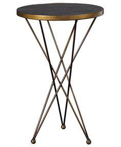 Cosmo Accent Table, Martini - furniture - Macy's