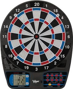 Viper 787 Electronic Dartboard. Challenge friends and family to a game of darts with this standout dartboard! One year warranty.