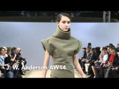Watch the J. W. Anderson catwalk show for autumn/winter 2014