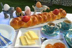 KitchenBaroness: Tsoureki Greek Easter Bread