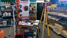 Garreth Dykes at Travis Perkins Tool Morning in Peterborough. Showing off the Datum product range!