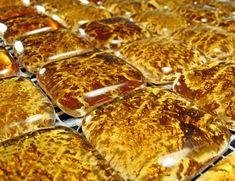 Fuoco 224 Amber and Gold Designer Murano Glass Italian Mosaic Tiles