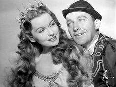 Rhonda Fleming & Bing Crosby
