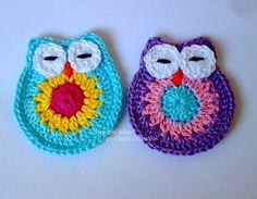 Tecendo Artes em Crochet: Pap da Corujinha Dorminhoca