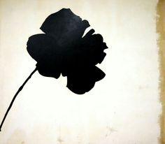 Jannis Kounellis, Rosa nera, 1964
