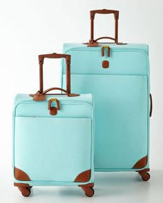 Love the color of this luggage
