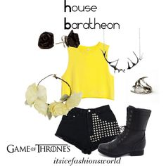 """House Baratheon"" by itsicefashionsworld on Polyvore"