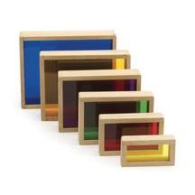Discount School Supply - Nest & Stack with Color Blocks - Set of 6