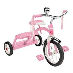 Pink Radio Flyer Classic Tricycle. Adorable!