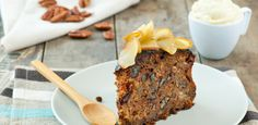 Apple Pecan Olive Oil Cake with Oma's Secret Whipped Topping | W Network