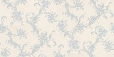 Satin Charm (20549) - Albany Wallpapers - A vinyl wallcovering with a delciate, all over floral trail. Shown here in pale blue and cream. Other colourways are available. Please request a sample for a true colour match.