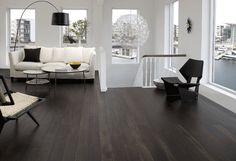love!  Black boards on the floors | nooshloves