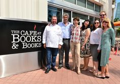 The Ribbon Cutting for The Café at Books & Books, Arsht Center #CafeBBArsht