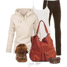 """""""Whiskey Moccasin"""" by orysa on Polyvore"""