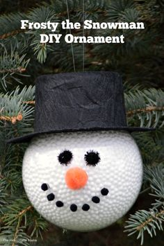 DIY Frosty the Snowm