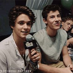 Brad and Shawn