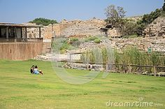 ISRAEL -July 30, - Two Teen Girl Sitting On The Grass In The Ancient Park Of Caesarea, Israel - Caesarea 2015 - Caesarea 2015 - Download From Over 40 Million High Quality Stock Photos, Images, Vectors. Sign up for FREE today. Image: 57648957