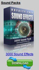 Varios efectos de sonidos para agregar a los videos