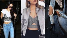 Entérate de lo que estará de Moda este año 2017. La moda este 2017, destaca las medias de red, los crop tops y bra tops, prendas de lencería usadas para lucir bellas por dentro y por fuera...¡preguntenle a Selena Gómez!