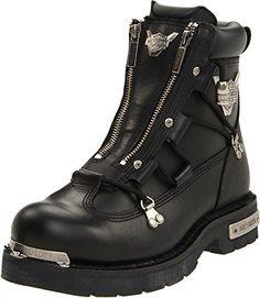 bc7cbdb476d  boots  harleydavidson  motorcycle  menswear Mens Biker Boots