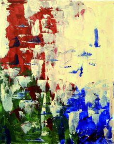 Abstract acrylic paiting