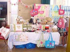 Craft fair stall