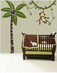 This cute monkey hanging from a tree is significant of your child's naughtiness, and is perfect to transform kids' rooms!    Check out more cartoon style wall stickers on gloob.in    Avail discounts and freebies on facebook.com/iamgloob