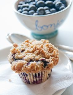 everlasting blueberry almond coffeecake ~ Click ...cute graphic of Violet Beauregarde, from Willy Wonka & the Chocolate Factory ;-]]