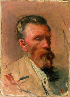 Pablo Picasso, Portrait of Picasso's Father, Barcelona, c. 1896 on ArtStack #pablo-picasso #art