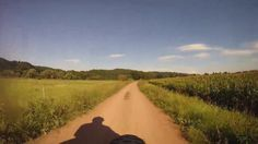 Sieg River Bike Path (Germany) from Hennef to Auel - virtual cycling - i...