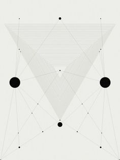 processingmatter: Some things are black, some things are white. Triangulation.