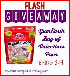 Mommy's Favorite Things: YumEarth Review & Giveaway