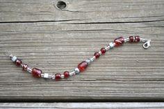 The Ohio State University Beaded Bracelet by EridanusJewelry, $10.00