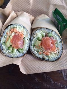 Where to Get a Sushi Burrito the Bay Area I Love Food, Good Food, Yummy Food, Law Carb, Sushi Burrito, Onigirazu, Aesthetic Food, Seafood Dishes, Food Cravings
