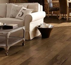 Hardwood Floors: Somerset Hardwood Flooring - 5 IN. Southern Antiques Collection - Hickory Scraped Smokehouse