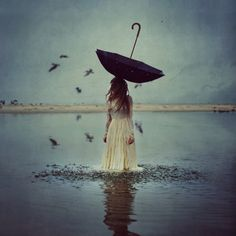 Photograph The World Above by Brooke Shaden on 500px