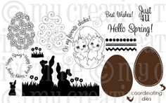 My Creative Time Hello Spring Stamp Set