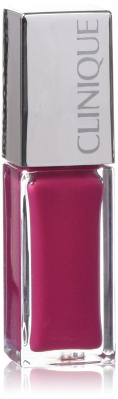 Clinique Pop Lacquer Lip Colour And Primer 07 Go Go Pop. A luscious pop of liquid, high-shine colour in one, full-coverage coat. Luxurious yet lightweight formula with built-in primer glides on effortlessly, wears for up to 6 hours. 0.20floz/6ml. New, In Box.