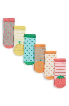 Free shipping and returns on Tucker + Tate 'Animal' Socks (6-Pack) (Baby) at Nordstrom.com. Friendly animal faces charm a colorful set of stretchy, comfy socks.